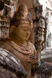 Buddyzm statua w świątyni w Myanmar lub ulga Obrazy Royalty Free