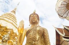 Buddyzmu tło Zdjęcia Royalty Free