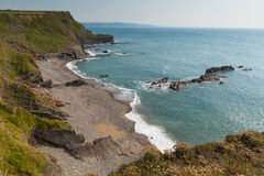 Bude beach at Compass Point North Cornwall England UK Stock Photography