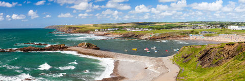 Bude Cornwall英国 免版税库存图片