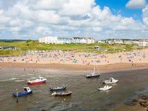 Bude Cornwall Engeland Stock Foto