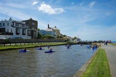 Bude Cornwall Großbritannien Lizenzfreies Stockfoto