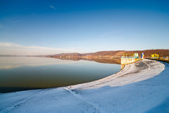Budeasa, Arges - barrage lake Stock Image