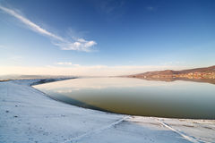 Budeasa, Arges - barrage lake Royalty Free Stock Image