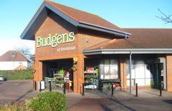 Budgen Supermarket, England. Royalty Free Stock Photo