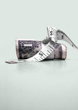 Tight Bank's Interest Rates, Federal Reserves stock image