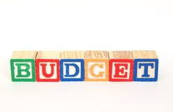 Budget Royalty Free Stock Photo