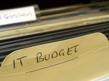 IT Budget Royalty Free Stock Photos