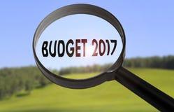 Budget 2017 Lizenzfreie Stockfotografie