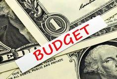 Budget av landet royaltyfri bild