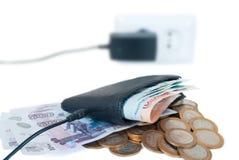 budget- begreppssupplement Royaltyfri Bild