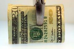 budget- besparingar drar åt Royaltyfri Fotografi
