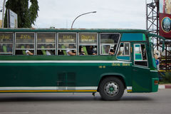 Budget Bus of Greenbus Company Royalty Free Stock Images