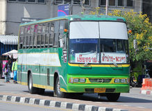 Budget Bus of Greenbus Company Stock Images