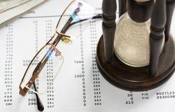 Budget calculation Royalty Free Stock Photos