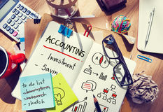 Budget Commerce Revenue Accounting Assets Concept Stock Image