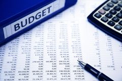 Budget concept Royalty Free Stock Image