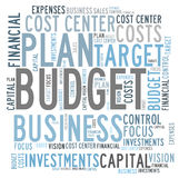 Budget control Royalty Free Stock Photos