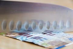 Budget cuts Royalty Free Stock Photo