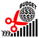 Budget Cuts and Rising Profits Royalty Free Stock Photography
