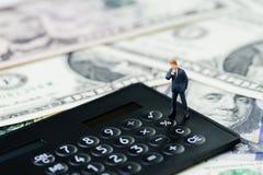 Budget de société, affaires de profits et pertes, données d'investissement ou aileron images stock