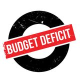 Budget Deficit rubber stamp Stock Photos