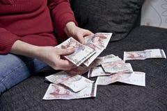 Budget domestique Photographie stock libre de droits