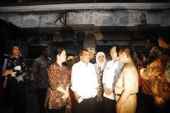 BUDGET EN HAUSSE D'INFRASTRUCTURE DE L'INDONÉSIE Images libres de droits