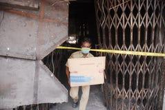 BUDGET EN HAUSSE D'INFRASTRUCTURE DE L'INDONÉSIE Image stock
