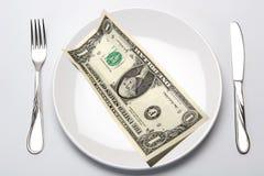 Budget, Finance. Money, Calculation, Fission, Dollar, USA, America Royalty Free Stock Photo