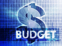 Budget Finance illustration Royalty Free Stock Image
