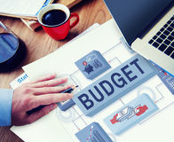 Budget Finance Money Income Investment Concept Royalty Free Stock Photos