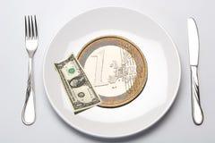 budget- finans Fotografering för Bildbyråer