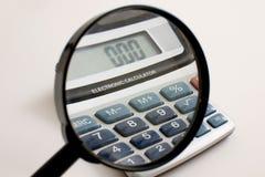 budget- finans Arkivbilder