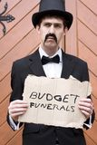 Budget Funerals Royalty Free Stock Image