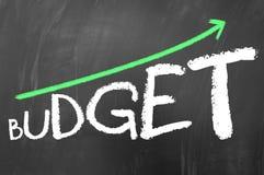 Budget growing Stock Image