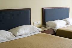 budget- hotellrum Arkivfoton