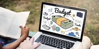 Budget Investment Money Financial Economy Accounting Concept Royalty Free Stock Photos