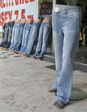 Budget jeans Stock Photo