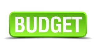 budget- knapp stock illustrationer