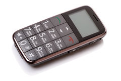 Budget mobile phone Royalty Free Stock Photo