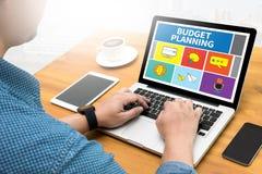 Budget- planläggning royaltyfri foto