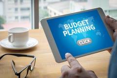 Budget- planläggning royaltyfria bilder