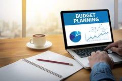 Budget- planläggning royaltyfria foton