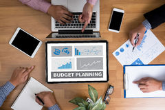 BUDGET PLANNING Royalty Free Stock Images