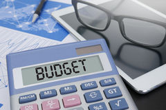 BUDGET PLANNING Royalty Free Stock Image