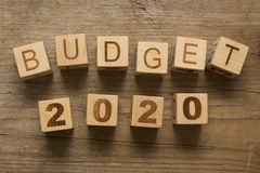Budget pour 2020 Photos stock