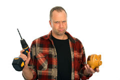 Budget for renovation is not good Royalty Free Stock Images