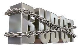 Budget Restraints And Chains Royalty Free Stock Photography