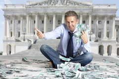 Budget United States Royalty Free Stock Image